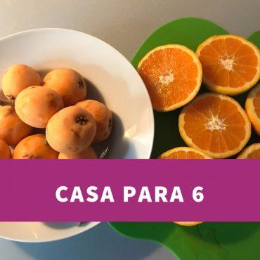 CASA COMPLETA PARA 6 PERSONAS